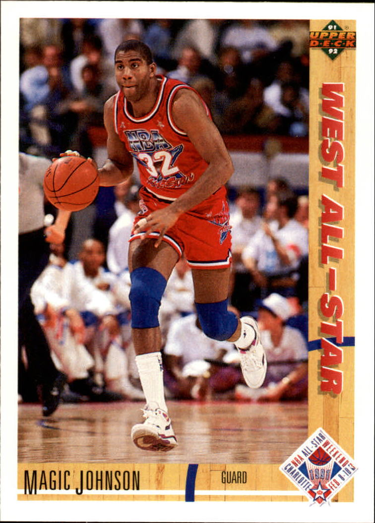 1991-92 Upper Deck #57 Magic Johnson AS
