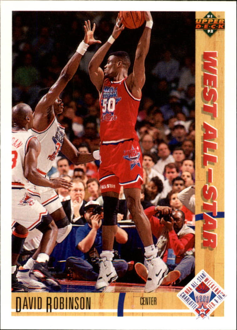 1991-92 Upper Deck #58 David Robinson AS