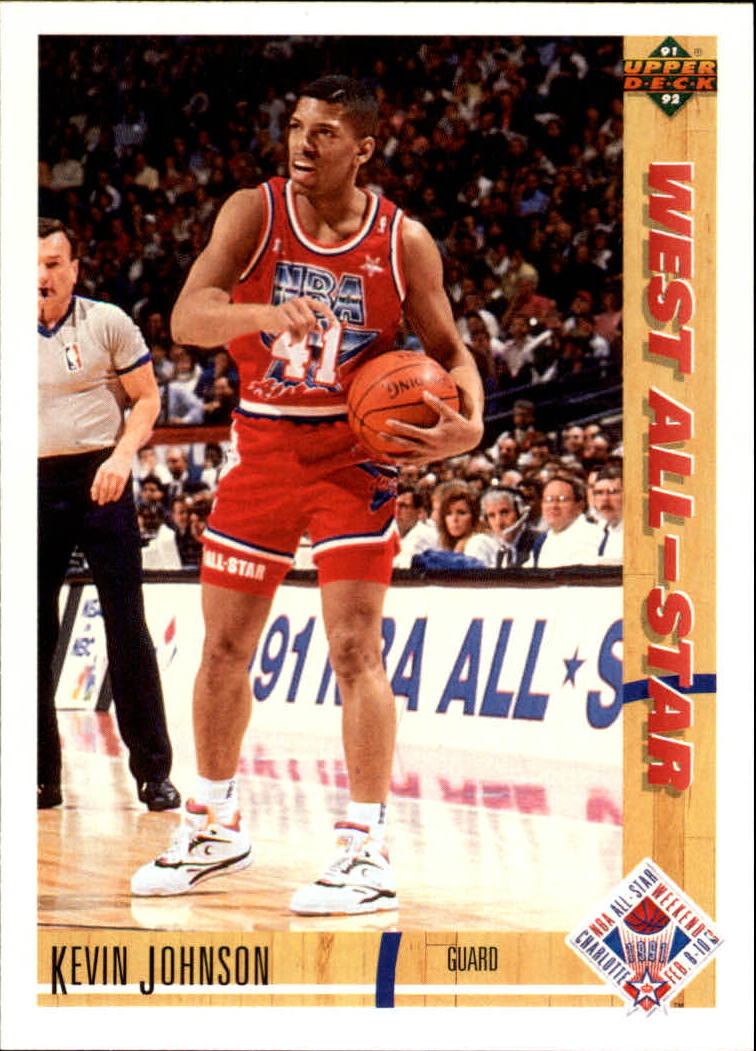 1991-92 Upper Deck #59 Kevin Johnson AS
