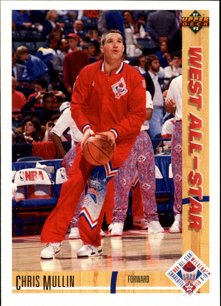 1991-92 Upper Deck #60 Chris Mullin AS
