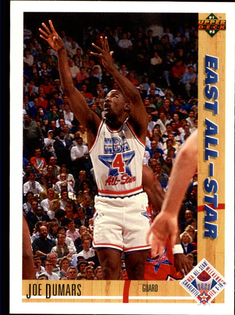 1991-92 Upper Deck #61 Joe Dumars AS