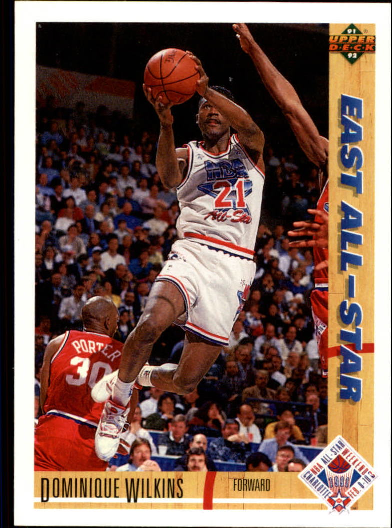 1991-92 Upper Deck #66 Dominique Wilkins AS