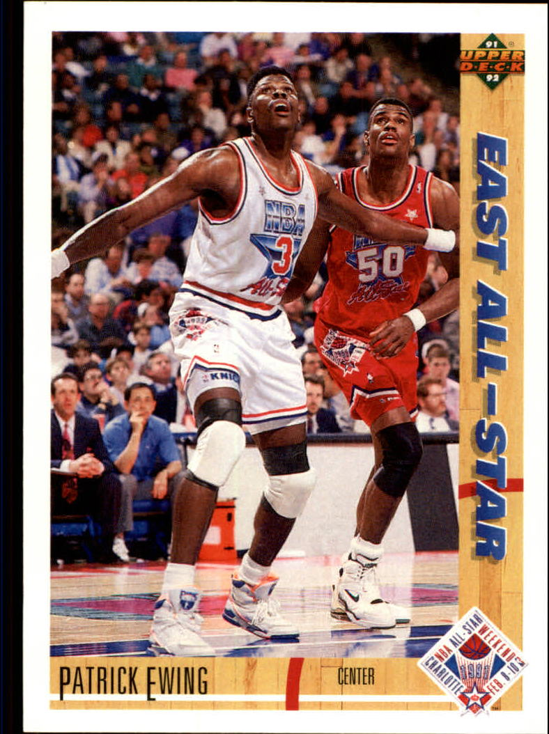 1991-92 Upper Deck #68 Patrick Ewing AS