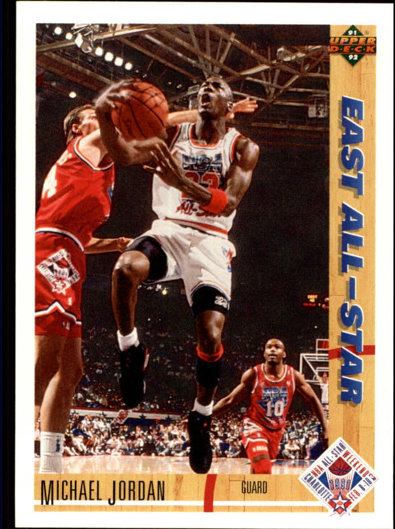 1991-92 Upper Deck #69 Michael Jordan AS