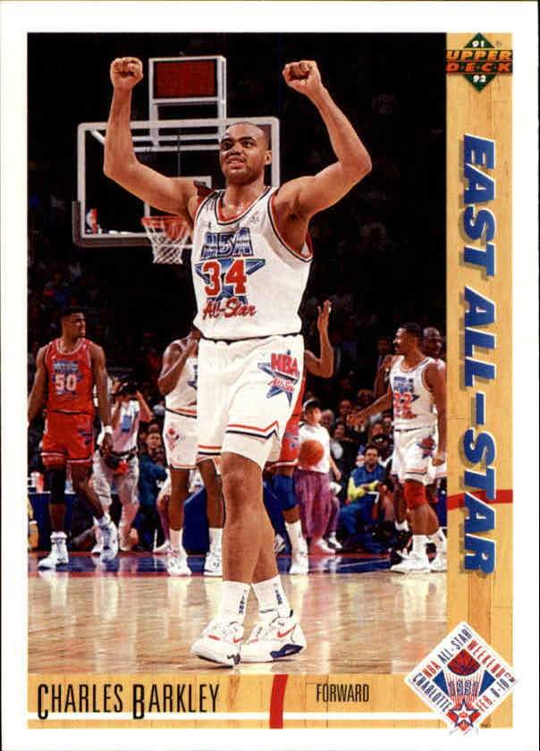 1991-92 Upper Deck #70 Charles Barkley AS