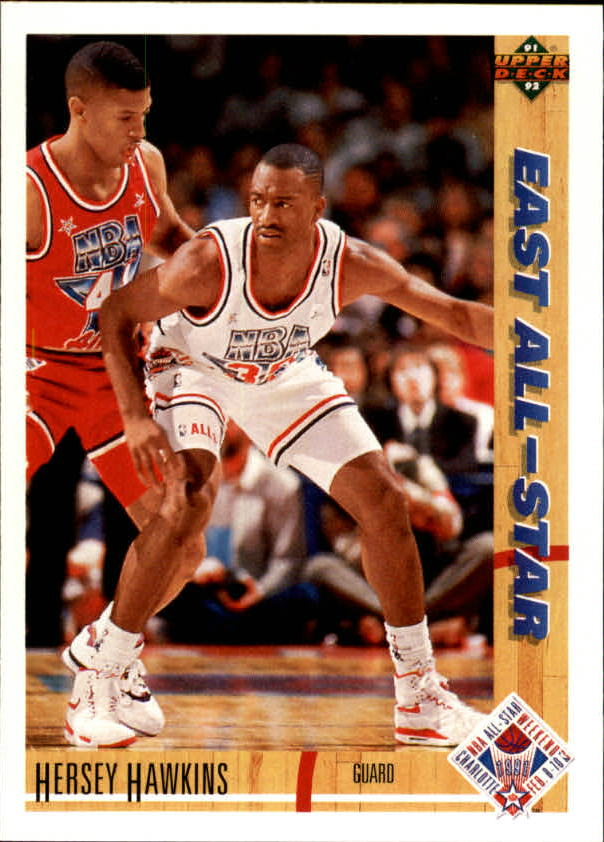1991-92 Upper Deck #71 Hersey Hawkins AS