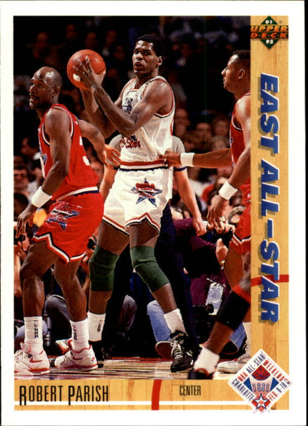 1991-92 Upper Deck #72 Robert Parish AS front image