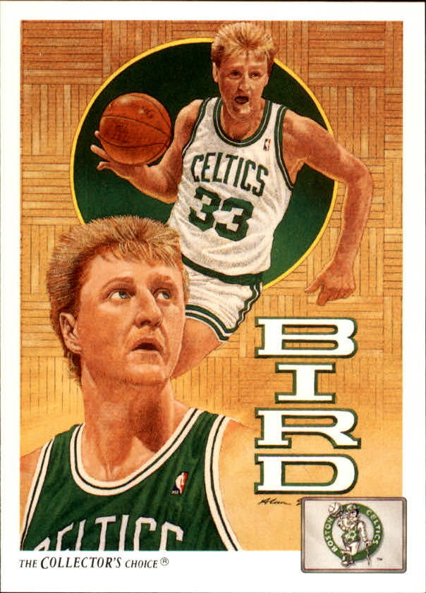 1991-92 Upper Deck #77 Larry Bird TC