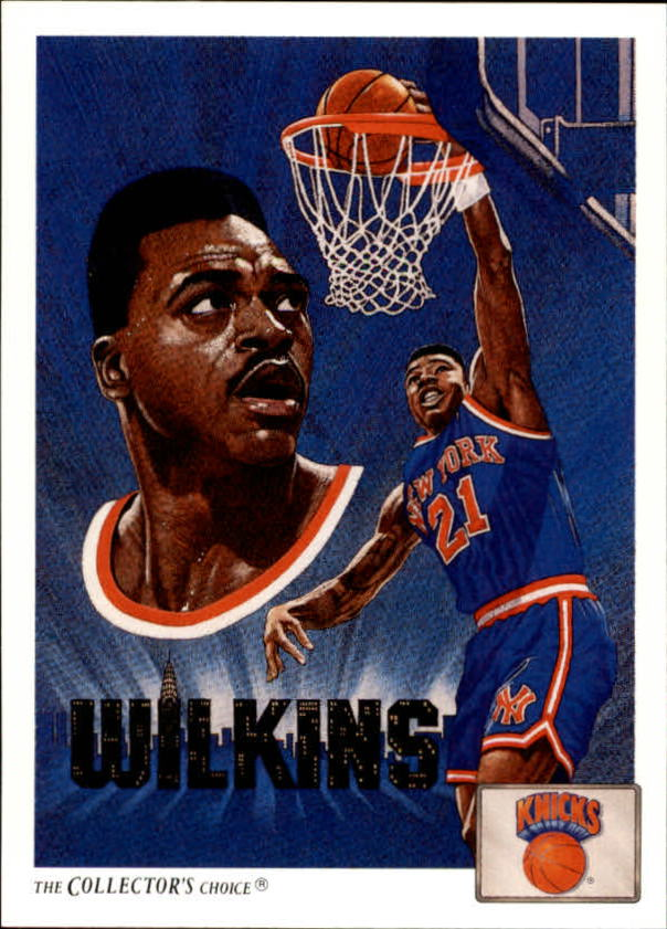1991-92 Upper Deck #84 Gerald Wilkins TC