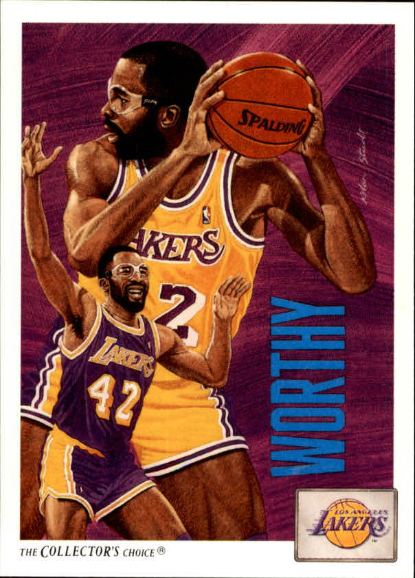 1991-92 Upper Deck #85 James Worthy TC