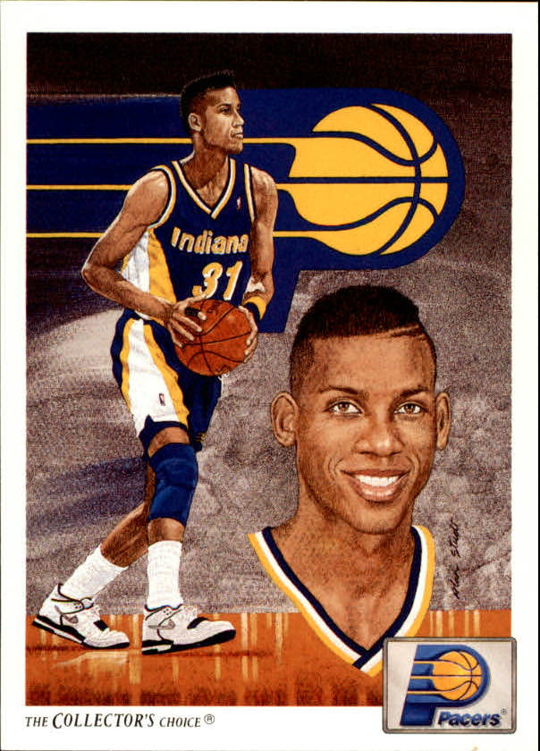 1991-92 Upper Deck #90 Reggie Miller TC