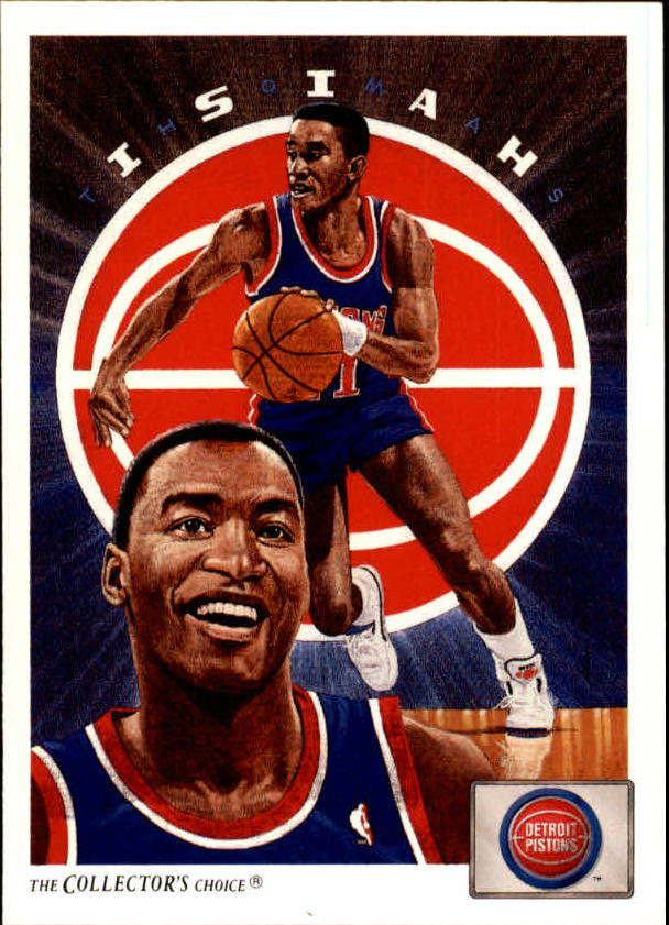 1991-92 Upper Deck #91 Isiah Thomas TC