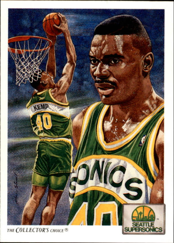 1991-92 Upper Deck #96 Shawn Kemp TC