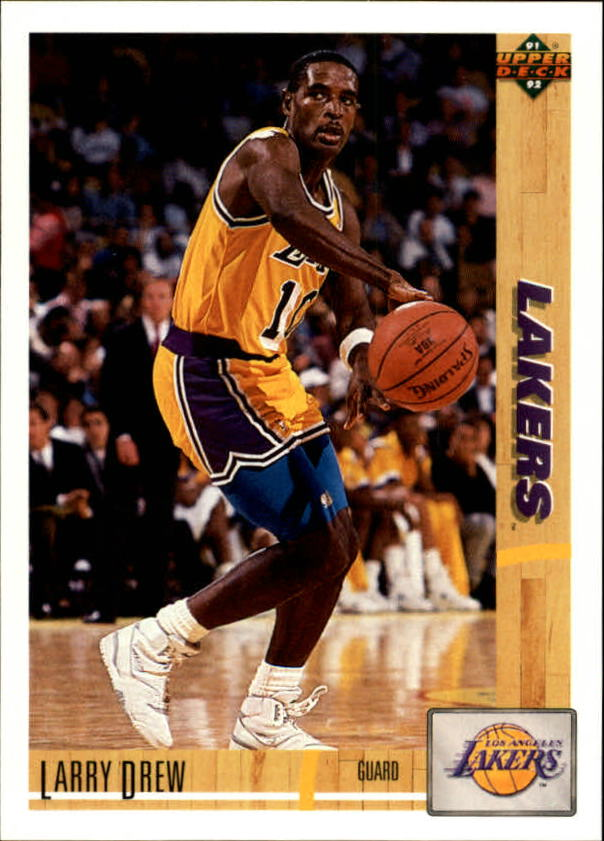 1991-92 Upper Deck #104 Larry Drew