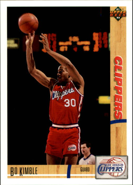 1991-92 Upper Deck #114 Bo Kimble