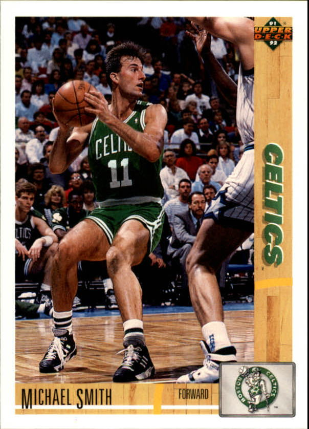 1991-92 Upper Deck #121 Michael Smith