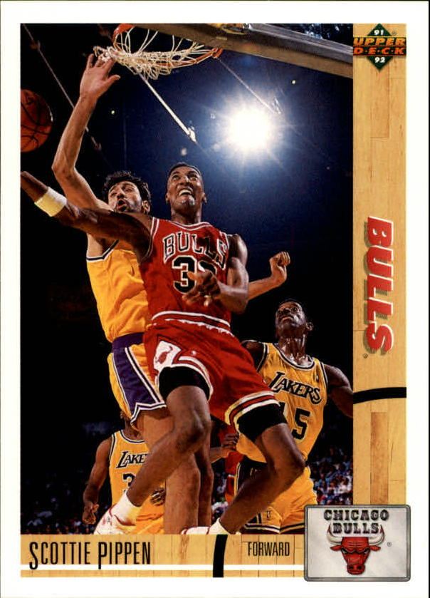 1991-92 Upper Deck #125 Scottie Pippen
