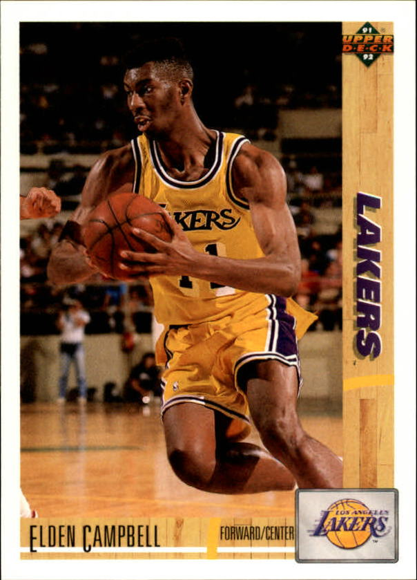 1991-92 Upper Deck #126 Elden Campbell