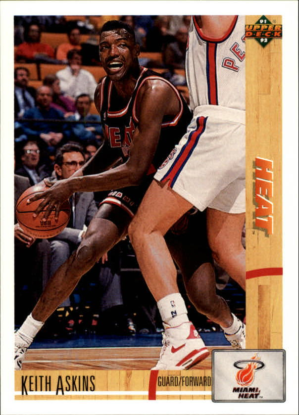 1991-92 Upper Deck #130 Keith Askins RC