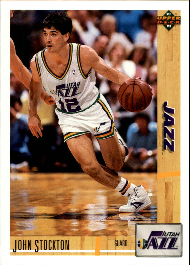 1991-92 Upper Deck #136 John Stockton