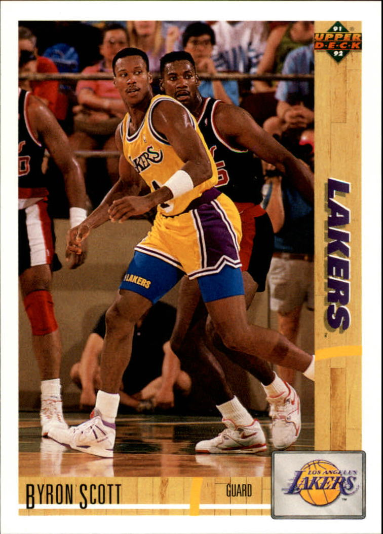 1991-92 Upper Deck #142 Byron Scott