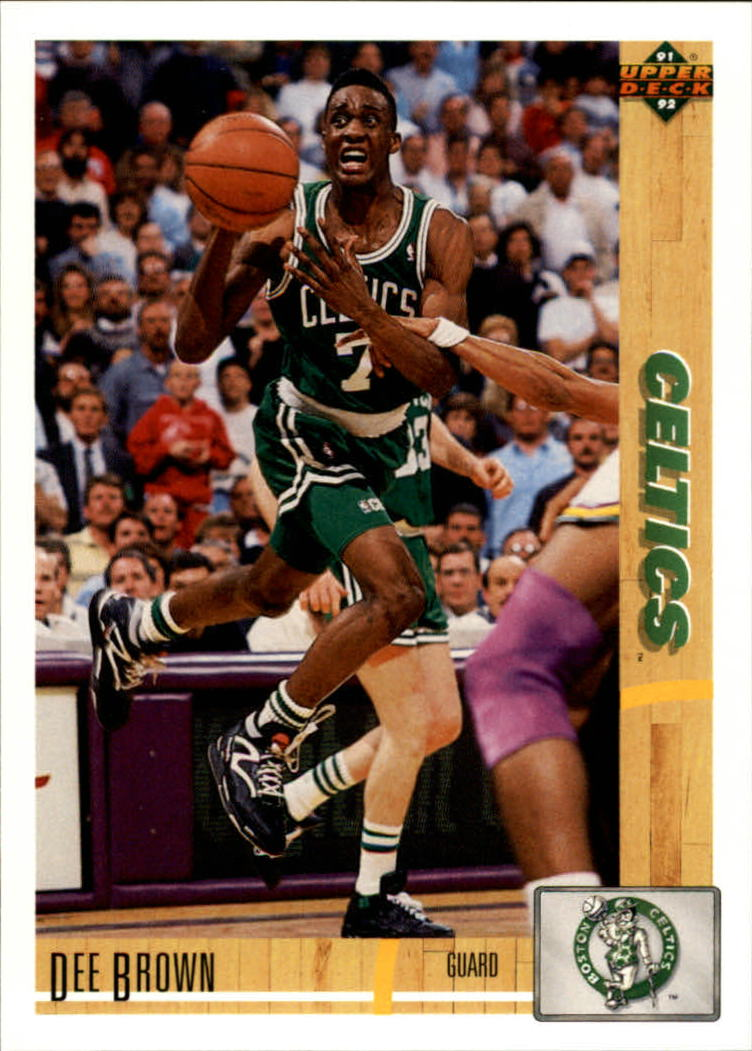 1991-92 Upper Deck #143 Dee Brown