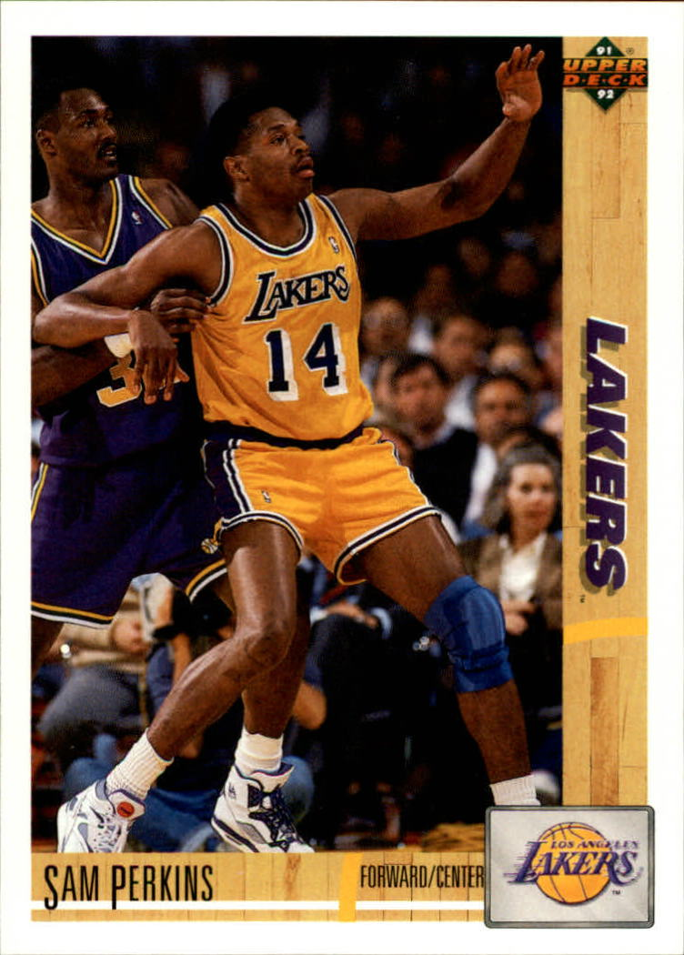 1991-92 Upper Deck #144 Sam Perkins