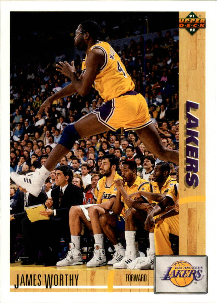 1991-92 Upper Deck #146 James Worthy