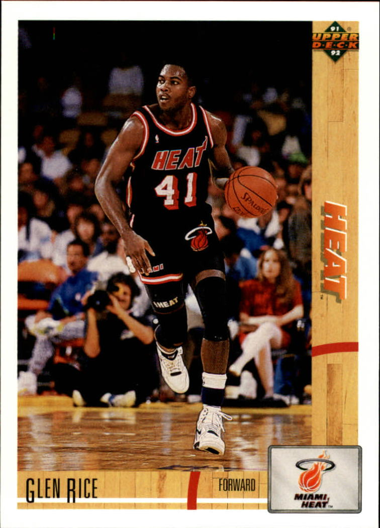 1991-92 Upper Deck #147 Glen Rice