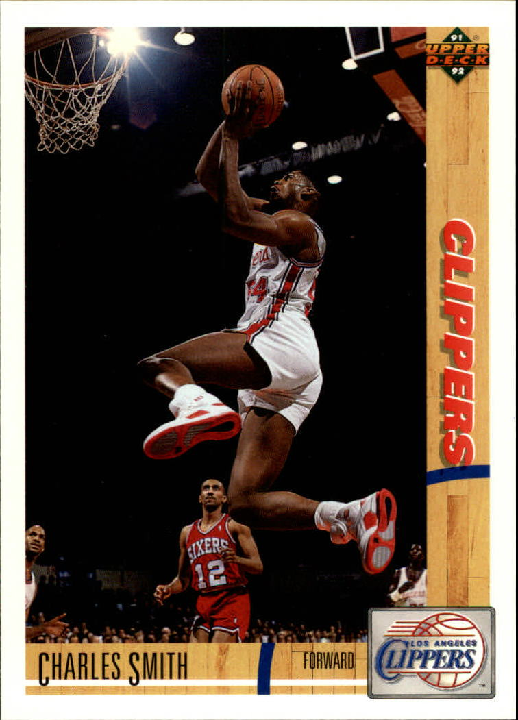 1991-92 Upper Deck #161 Charles Smith