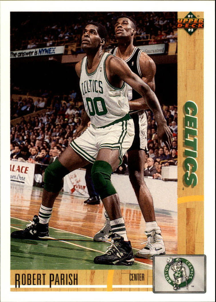 1991-92 Upper Deck #163 Robert Parish front image