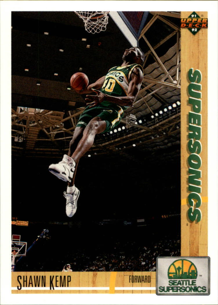 1991-92 Upper Deck #173 Shawn Kemp