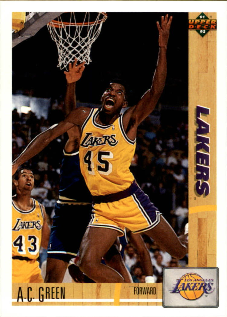 1991-92 Upper Deck #177 A.C. Green