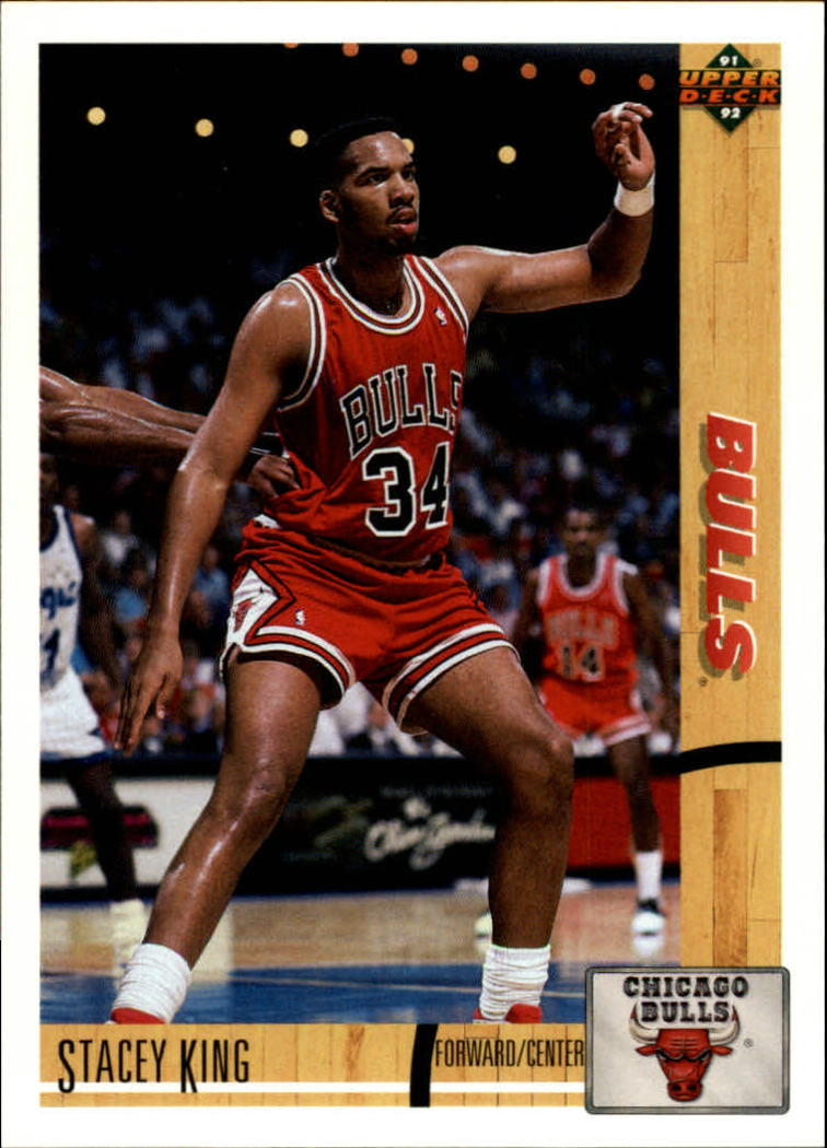 1991-92 Upper Deck #182 Stacey King