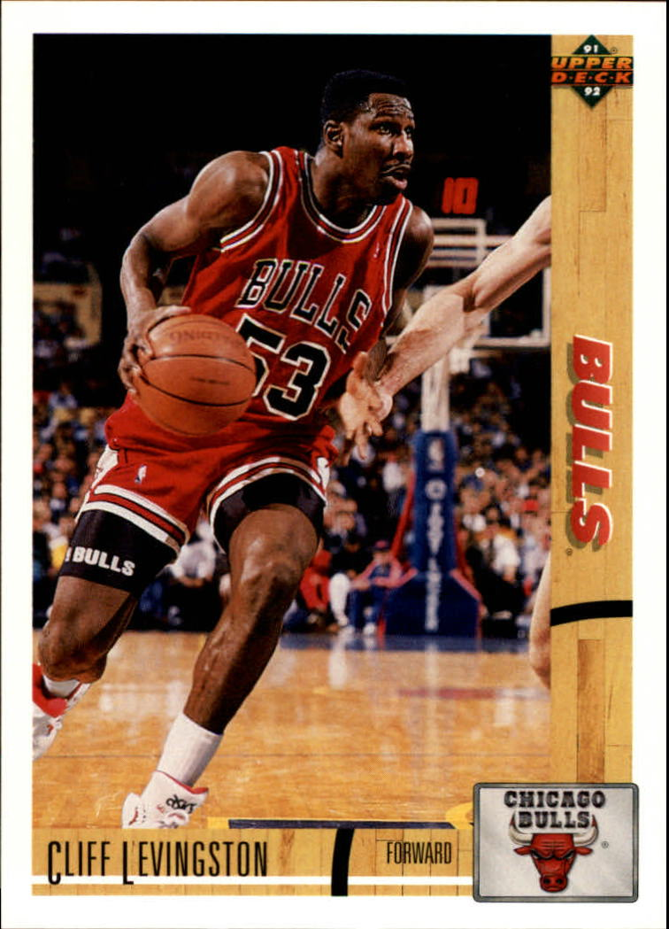 1991-92 Upper Deck #187 Cliff Levingston