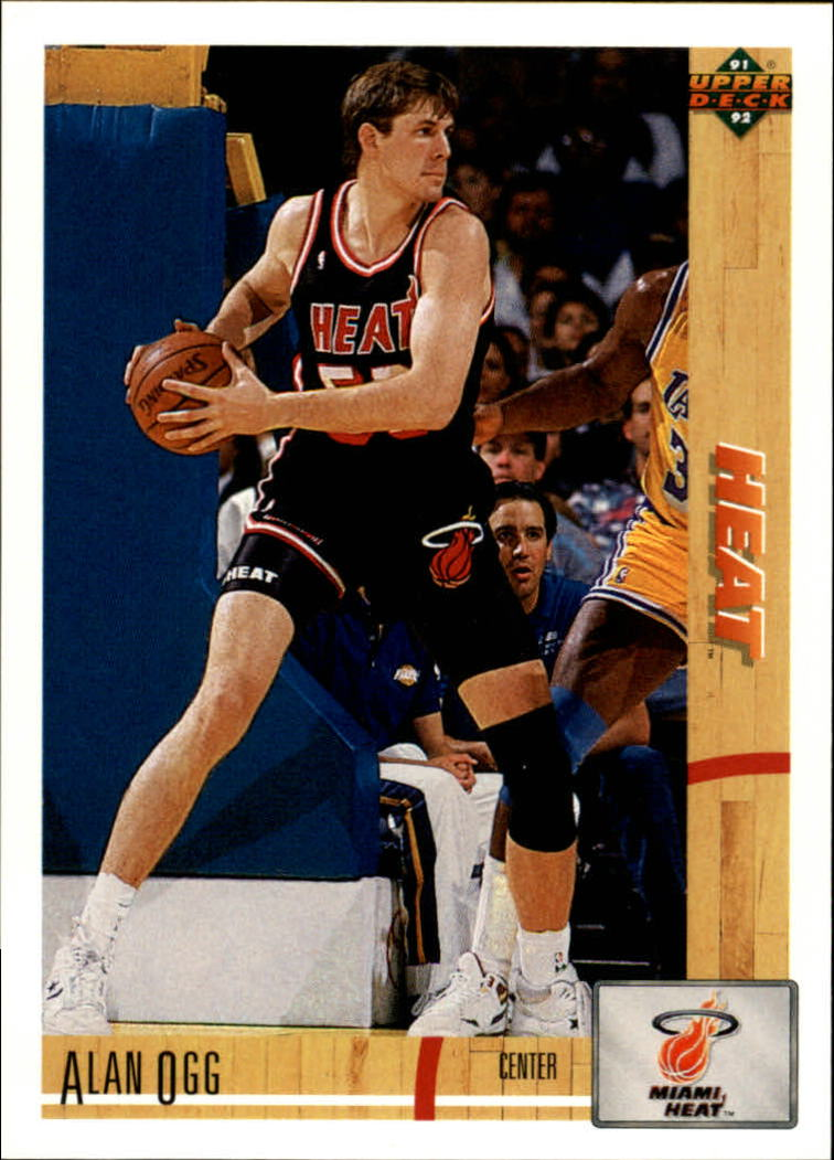 1991-92 Upper Deck #198 Alan Ogg