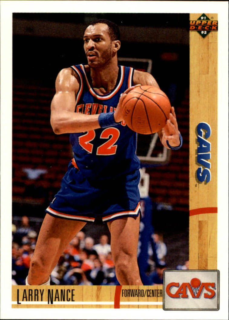 1991-92 Upper Deck #223 Larry Nance