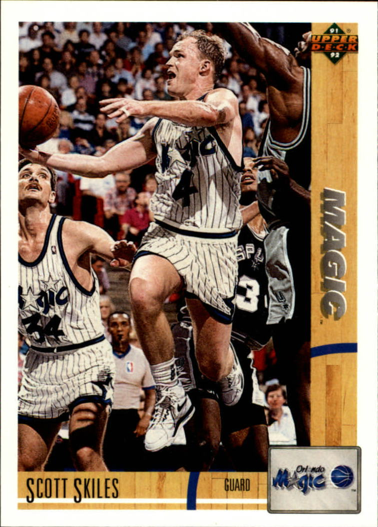 1991-92 Upper Deck #226 Scott Skiles