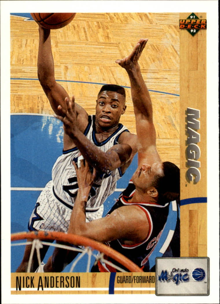 1991-92 Upper Deck #228 Nick Anderson