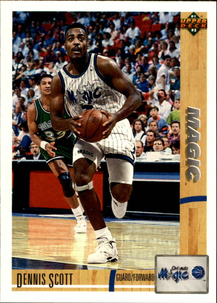 1991-92 Upper Deck #257 Dennis Scott