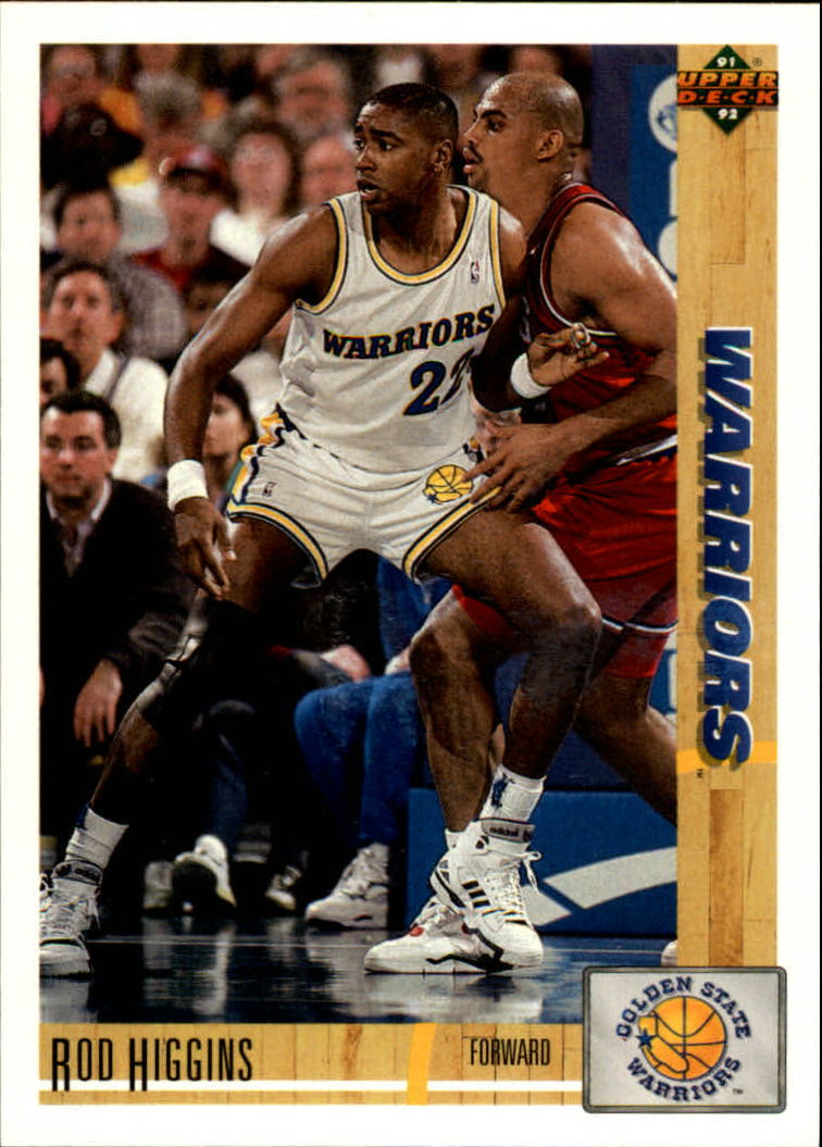 1991-92 Upper Deck #261 Rod Higgins