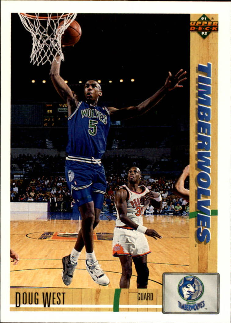 1991-92 Upper Deck #269 Doug West