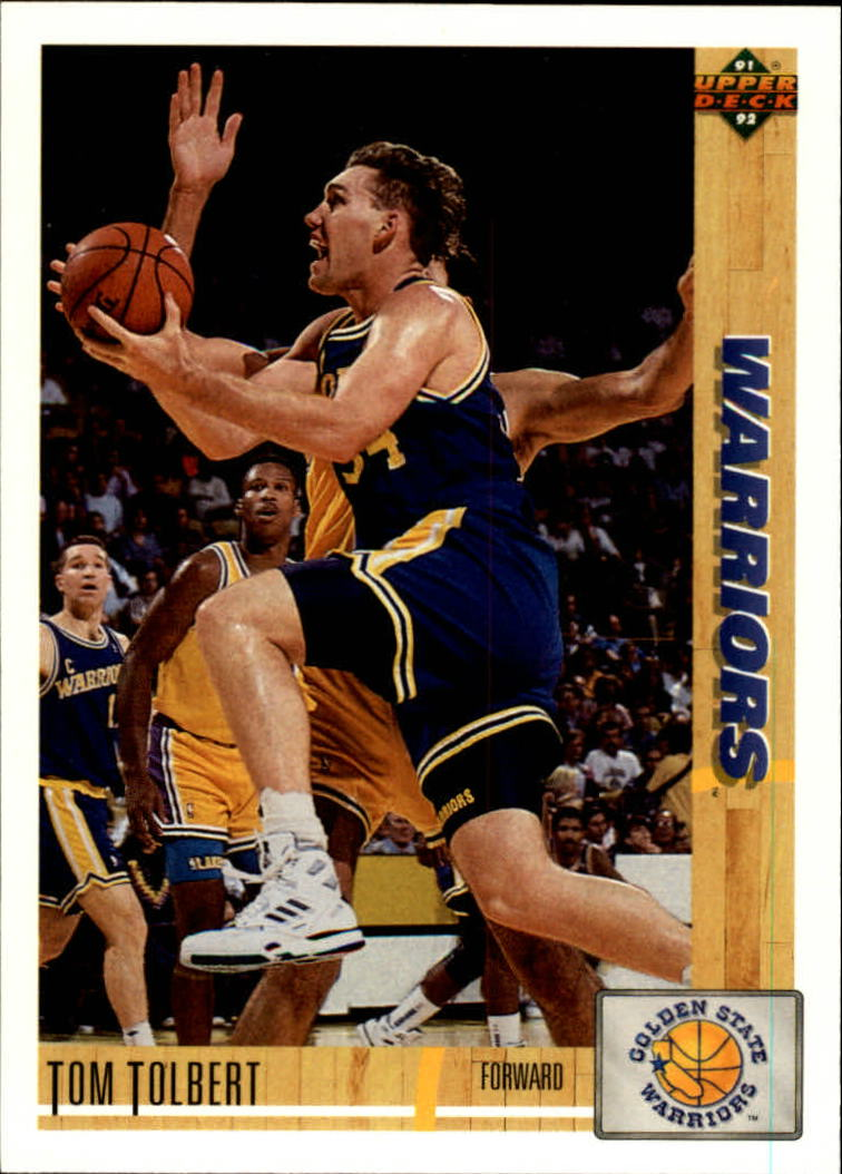 1991-92 Upper Deck #283 Tom Tolbert