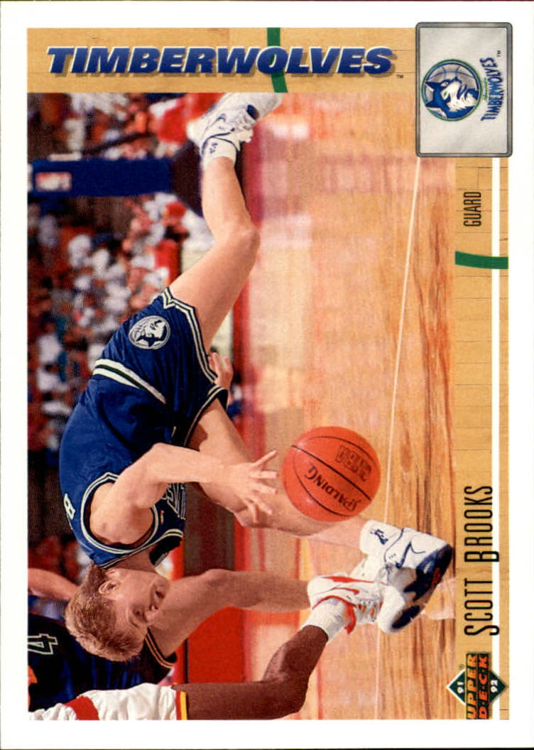 1991-92 Upper Deck #303 Scott Brooks