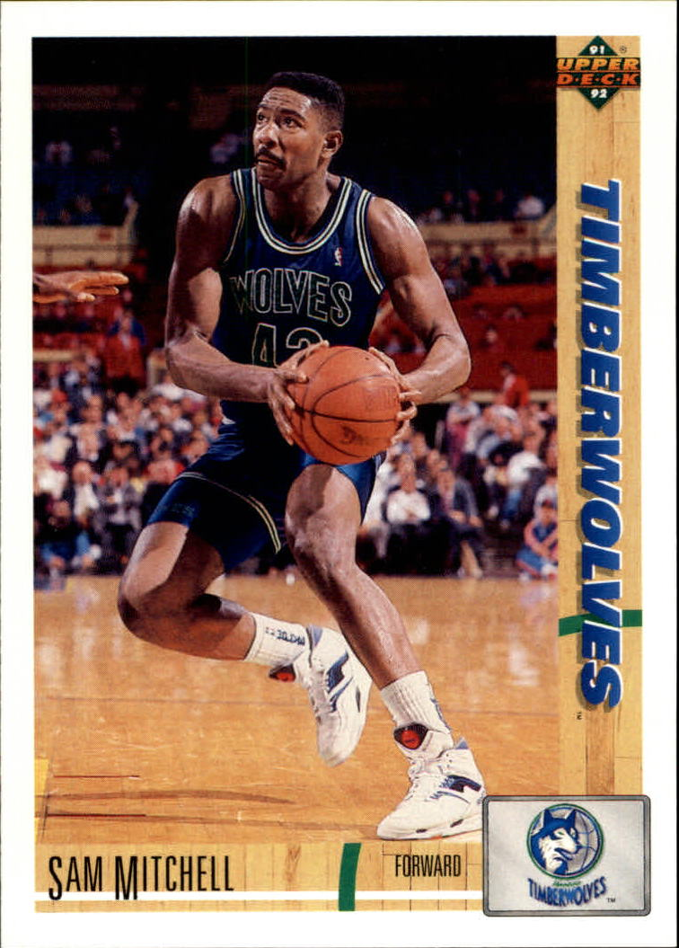 1991-92 Upper Deck #309 Sam Mitchell