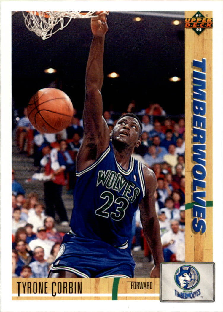 1991-92 Upper Deck #322 Tyrone Corbin