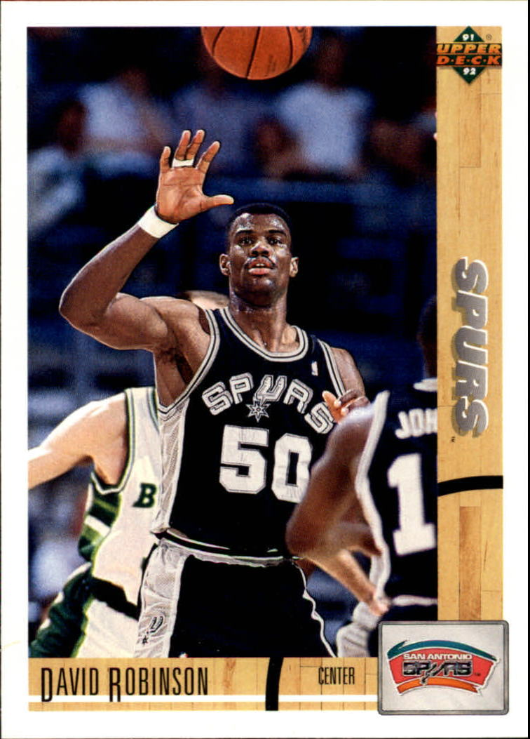 1991-92 Upper Deck #324 David Robinson