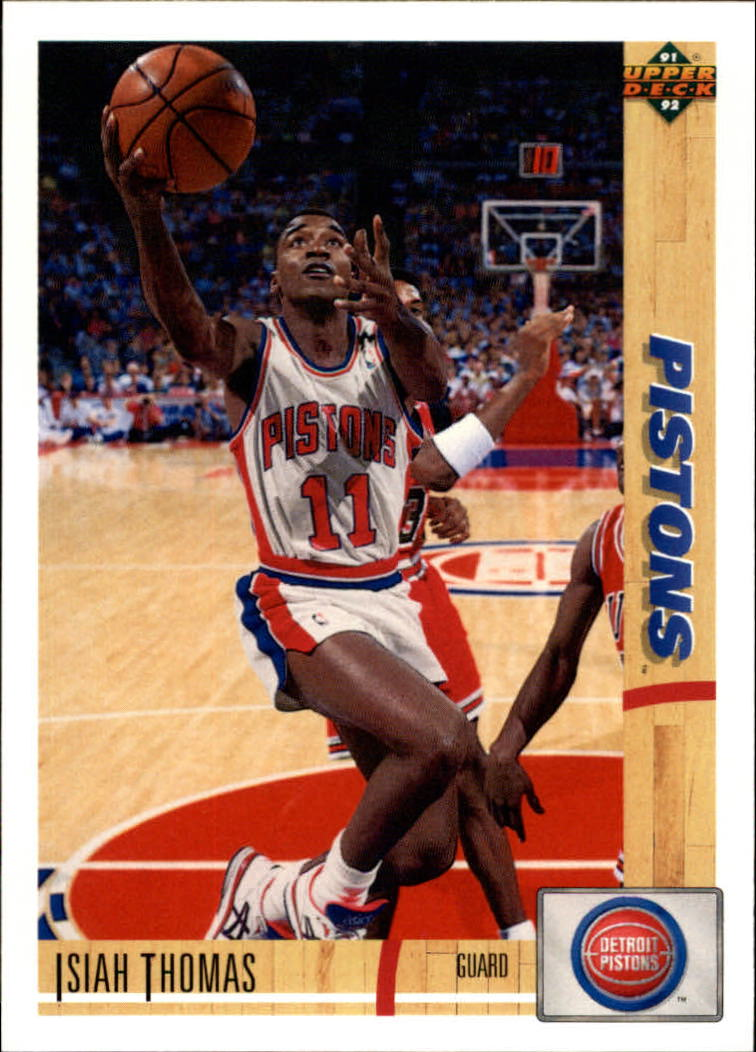 1991-92 Upper Deck #333 Isiah Thomas