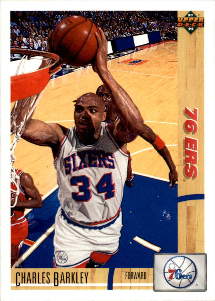 1991-92 Upper Deck #345 Charles Barkley