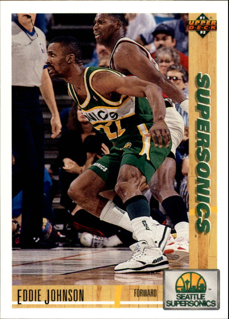 1991-92 Upper Deck #371 Eddie Johnson